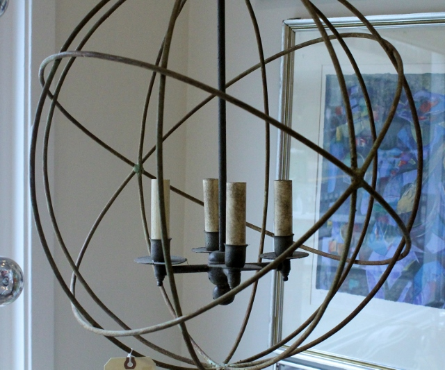 Sphere candle lamp